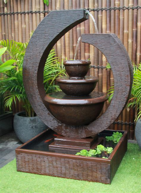 Fountain 2 Original Large Eclipse Water Feature Outdoor ...