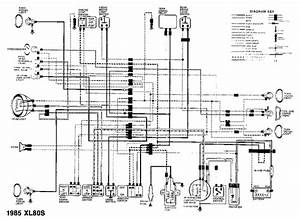 Wiring Diagram Honda Xl80s 1985 Circuit Schematic  59074