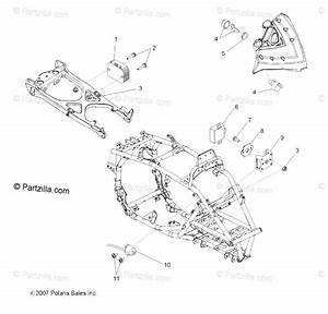 Polaris Atv 2008 Oem Parts Diagram For Electrical