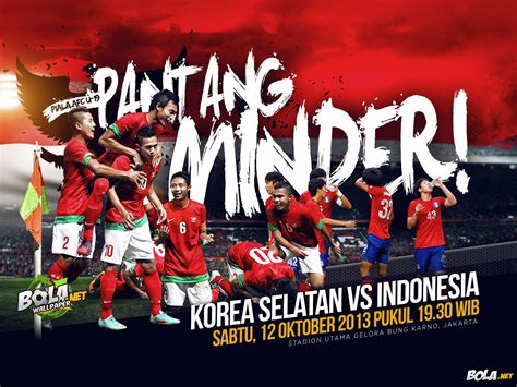 wallpaper afc cup  korsel  indonesia