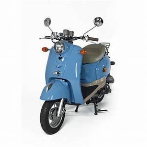 Scooter Neuf 50cc : scooter bleu retro 50cc zn50qt a ~ Melissatoandfro.com Idées de Décoration