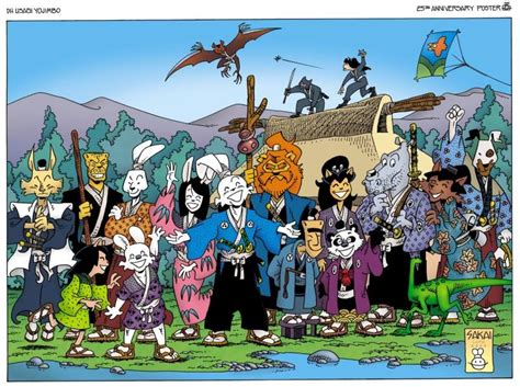 history  character usagi yojimbo alpha comics