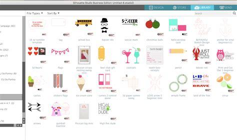 silhouette design studio larger silhouette studio library design preview v4 2