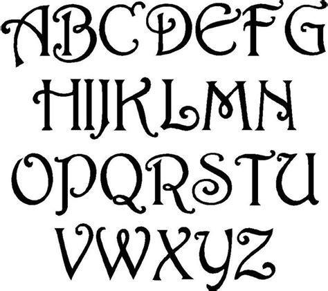 fun  alphabet stencil cool lettering designs  art deco templates cool lettering