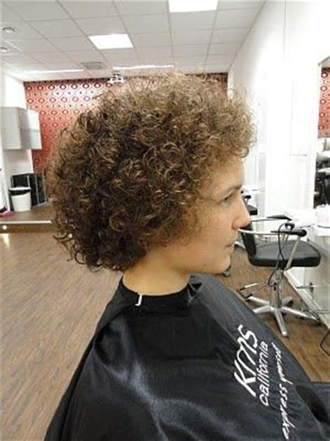 pin  jesse bolton  perms permed hairstyles short