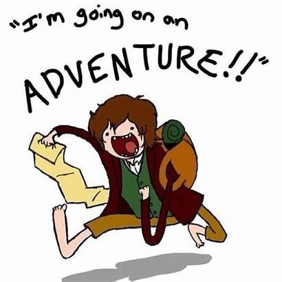 Bilbo Baggins Adventure Hobbit Cartoon Going Funny