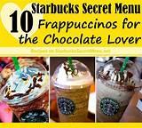 The starbucks secret menu drinks: 10 Starbucks Secret Menu Frappuccinos for the Chocolate Lover | Starbucks Secret Menu