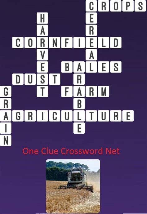 crossword clue harvest answer answers