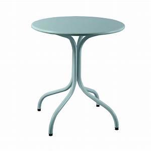 Table Ronde Exterieur : table metal exterieur maison design ~ Teatrodelosmanantiales.com Idées de Décoration