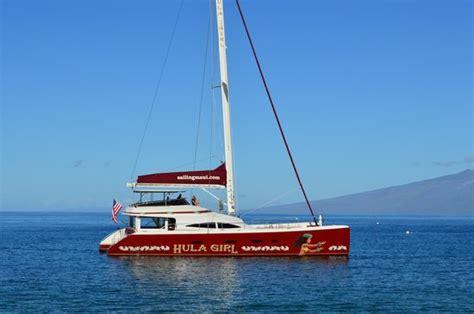Catamaran Journey Hawaii by The Beautiful Hula Girl Catamaran Picture Of Hula Girl