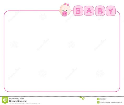 baby girl border clipart    cliparts