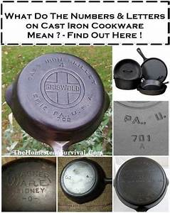 skillets survival and homesteads on pinterest With cast iron letters and numbers