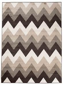 Zick Zack Teppich : tapiso maroko teppich modern kurzflor designer geometrisch ~ Lizthompson.info Haus und Dekorationen
