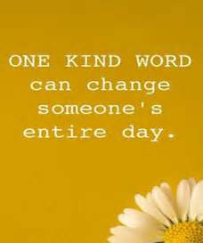 Inspirational Quote One Kind Word