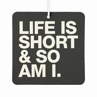 Short Funny Quote Air Am Reversible Freshener