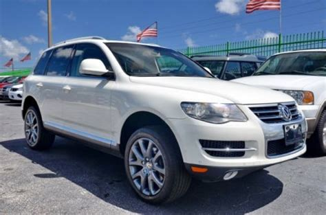 auto air conditioning repair 2009 volkswagen touareg navigation system sell used 2009 volkswagen touareg v8 navigation extra clean in fort lauderdale florida