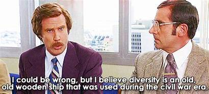 Diversity Ship Wooden Anchorman Quotes Don Hunch