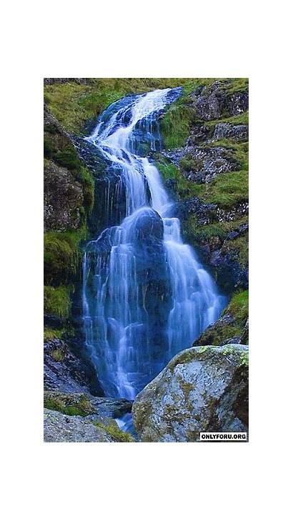 Nature Waterfalls Waterfall Water Onlyforu Fountain