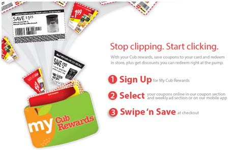 Check spelling or type a new query. My Cub Rewards Card: Stop Clipping, Start Clicking - Mommysavers