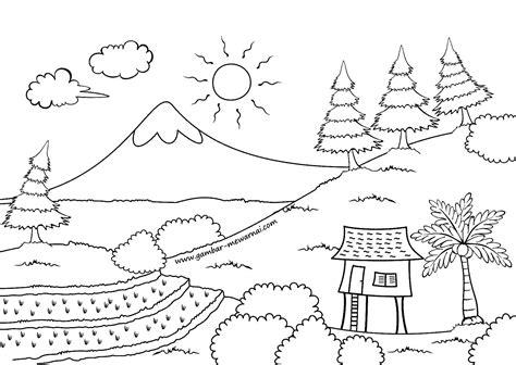 Oleh karena itu, kegiatan menggambar dengan tema pemandangan alam merupakan tema yang sangat favorit bagi pemula dalam mengekspresikan kreativitasnya pada. Gambar Mewarnai Pemandangan Laut - Kreasi Warna
