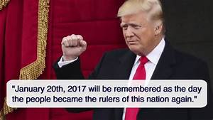 Key quotes from President Donald Trump's inauguration ...