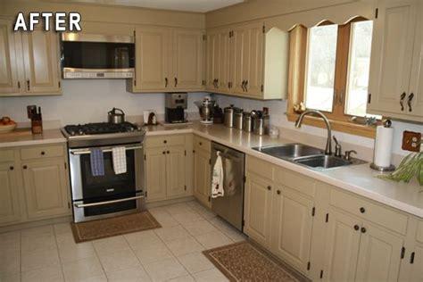 kitchen cabinet transformations rustoleum kitchen transformation after photo rust oleum 2815