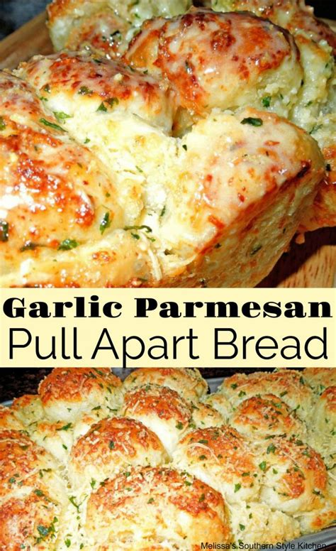 garlic parmesan cheese pull  bread  rhodes