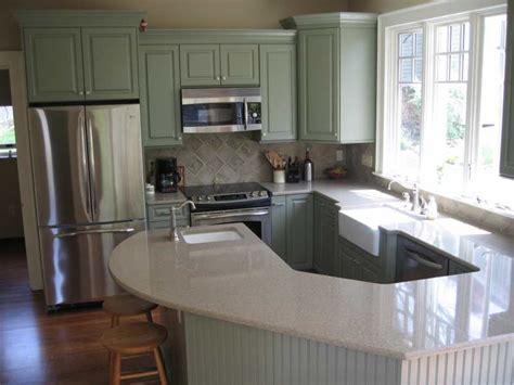 Sage Green Kitchen Cabinets With Island  7 Beautiful Sage