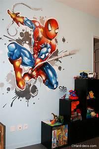 Deco Chambre Garcon Spiderman