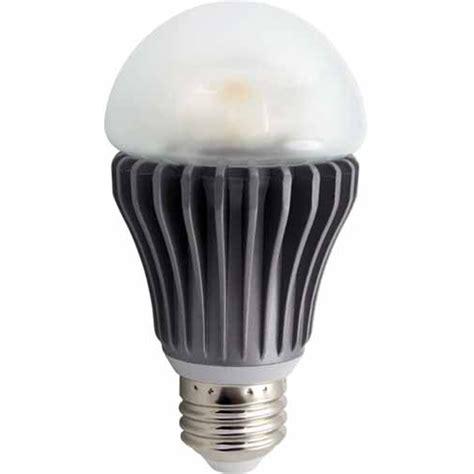 fusion ls 3000k a19 energy efficient indoor outdoor 8w