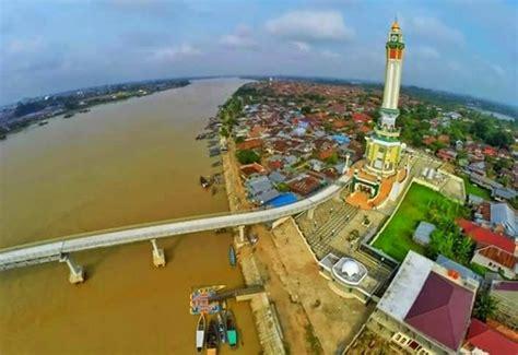 luas wilayah kota jambi tak ideal citra indonesia