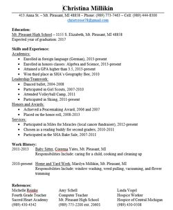 Things To List On A Resume by Things Needed On A Resume Resume Ideas