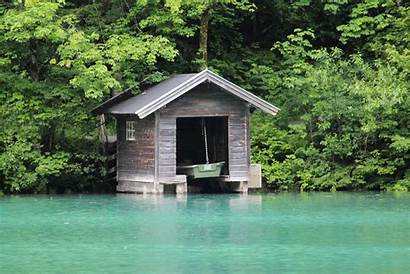 Lake Boathouse Wallpapers