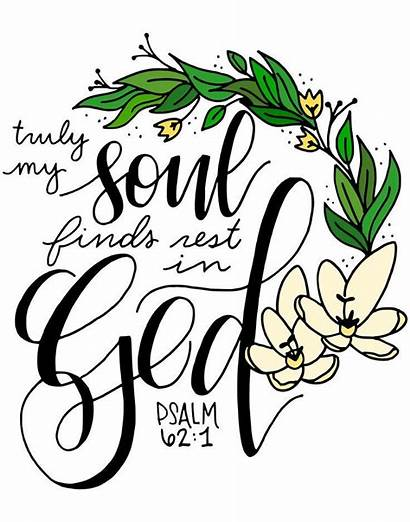Calligraphy Quotes Bible Psalm Wall Scriptures Verse