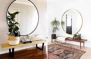 Miroir Pour Entrée : deco entree miroir ~ Teatrodelosmanantiales.com Idées de Décoration