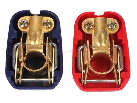 Red&blue Quick Release Battery Clamps Terminals Leisure