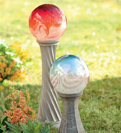 balls for garden 1000 images about bird baths gazing balls on pinterest gardens falling waters and garden art