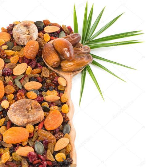 Nuts And Dry Fruits Mix — Stock Photo © Denira #66422999