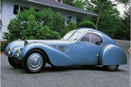 """Bugatti has just begun construction of its new type 57, designed and engineered by founder ettore bugatti's son jean. AutoSleek: """"1935 Bugatti Type 57SC Atlantic : The World's Most Expensive Car"""""""