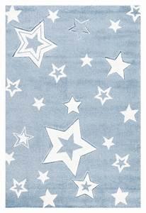 Teppich Stern Blau : kinderteppich junge baby teppich blau wei sternchen kinderteppiche kinderm bel furnart ~ Markanthonyermac.com Haus und Dekorationen