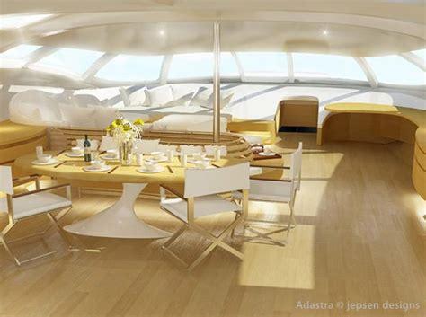 photo interieur yacht de luxe trimaran futuriste yacht de luxe design adastra