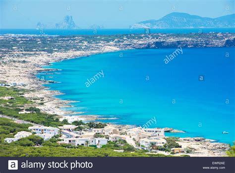 Formentera Island Top View Formentera Balearic Islands