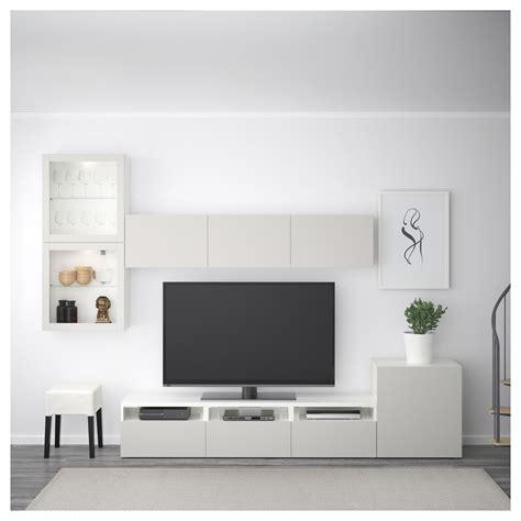 Ikea Besta Canada by Ikea Best 197 Tv Storage Combination Glass Doors White