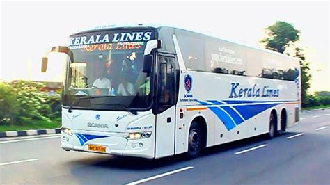 high speed volvo buses  bangalore kallada kerala