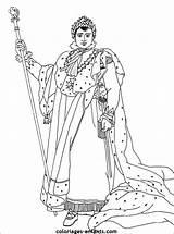 Napoleon Bonaparte Coloring Coloriages Coloriage Colorier 1er Imprimer Enfants France Rois Et Sur Des Enfant History Les Le King Depuis sketch template