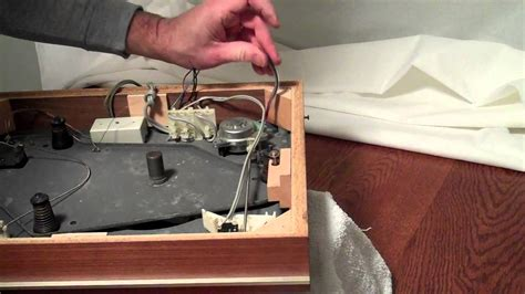 removing the motor from a thorens td 160 turntable