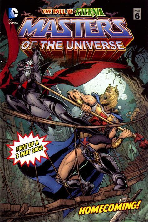 manorg publishing comics masters   universe