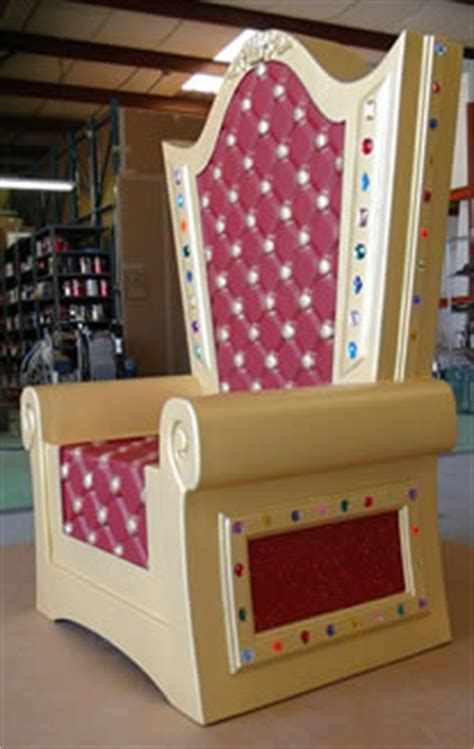 throne chair foam prop santa dino rentos studios inc