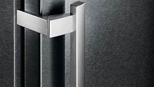 Moderne kuhlgerate kuhlschrank in edelstahl optik for Moderne kühlschr nke edelstahl