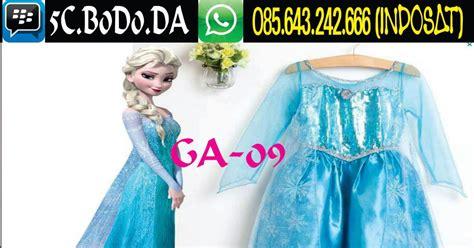 jual gaun anak terbaru frozen perempuan muslim import merah korea cinderella princess